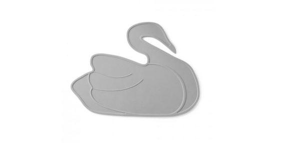 Tischset Grey Swan by lille Vilde Kleines Karussell | Special Blog Adventskalender auf https://youdid.blog
