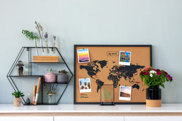 Wall shelf hexa worldmap mood hejpix | Special Blog Adventskalender auf https://youdid.blog