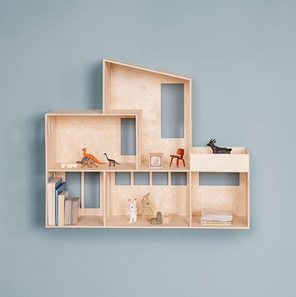ferm LIVING Funkis House grosses Puppenhaus aus Holz littlehipstar | Special Blog Adventskalender auf https://youdid.blog
