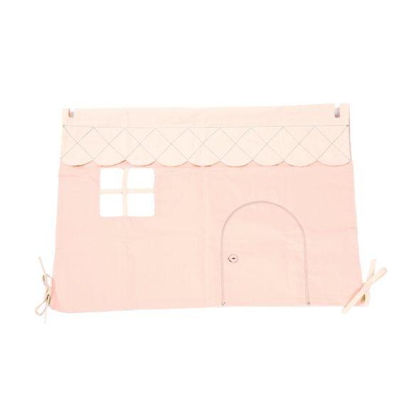 loullou spielbogen dollhouse puppenhaus aus stoff rosa kidswoodlove | Special Blog Adventskalender auf https://youdid.blog