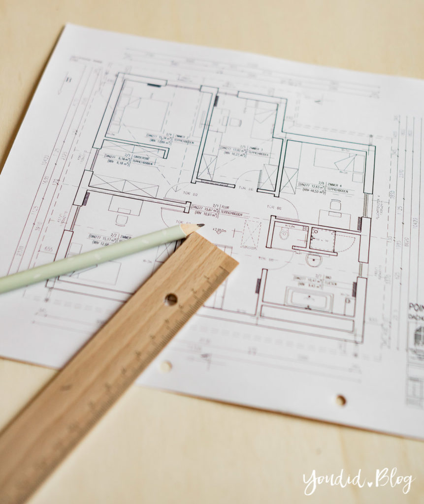 Bautagebuch Grundriss Grundrissplanung Architekt Floor Plan | https://youdid.blog