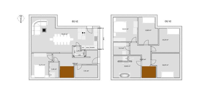 Danwood Point 177 Grundrissvariante Wäschezimmer Grundrissplanung Grundriss | https://youdid.blog