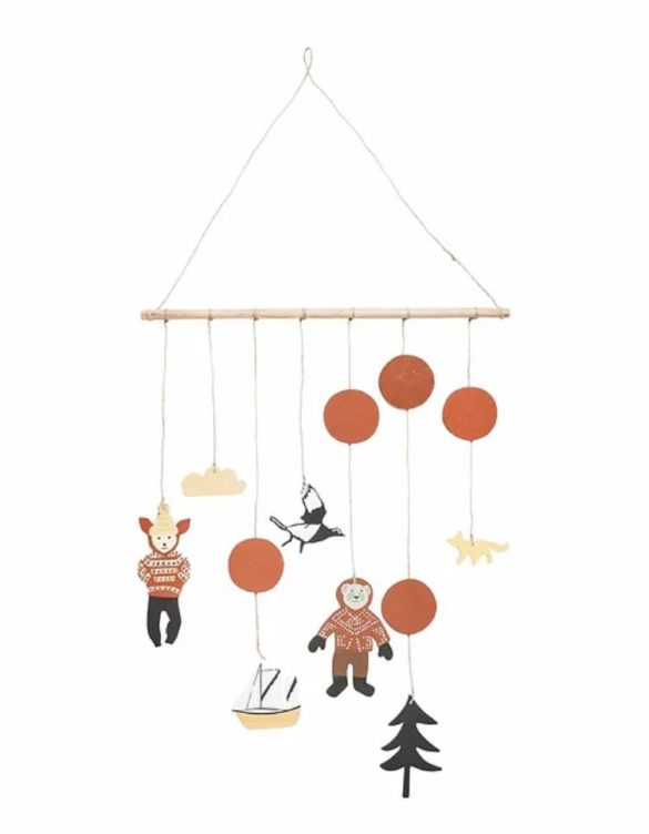 Hanging Adventures Mobile House of Rym Cotton Ballon | Special Blog Adventskalender auf https://youdid.blog