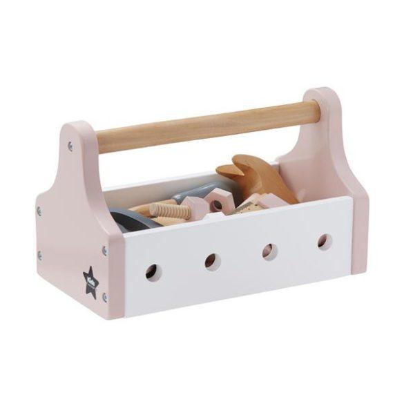 KidsConcept Werkzeugkiste rosa hasel und gretel | Special Blog Adventskalender auf https://youdid.blog