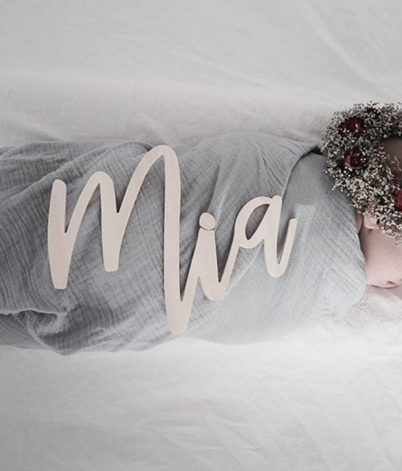 Namensschriftzug woodmaid | Special Blog Adventskalender auf https://youdid.blog