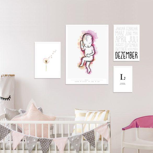 Poppy Einnerungswelt das Geburtsposter | Special Blog Adventskalender auf https://youdid.blog