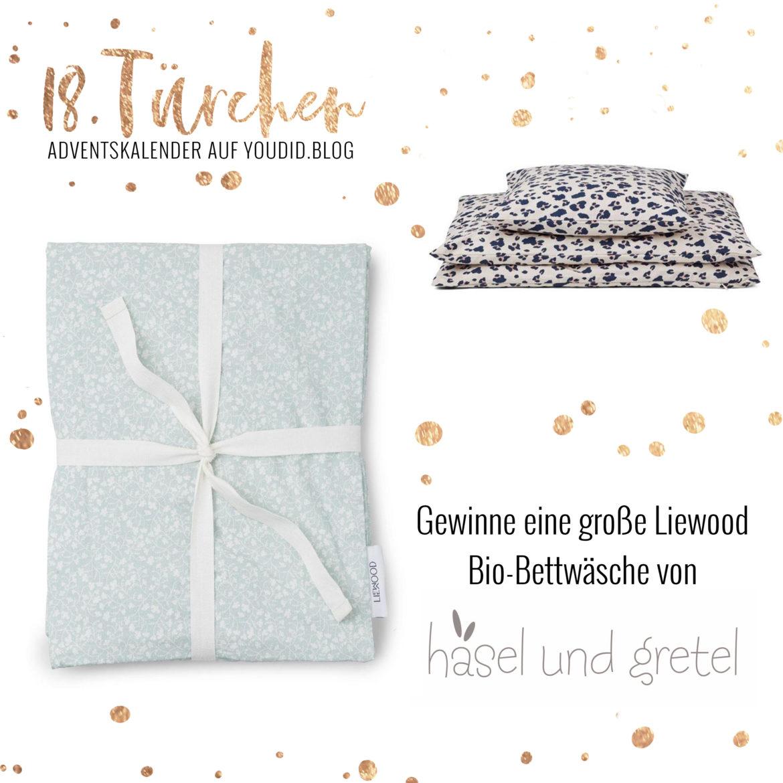 Special Adventskalender auf Youdid.Blog Gewinnbild Gewinne eine Liewood Bettwäsche von Hasel und Gretel