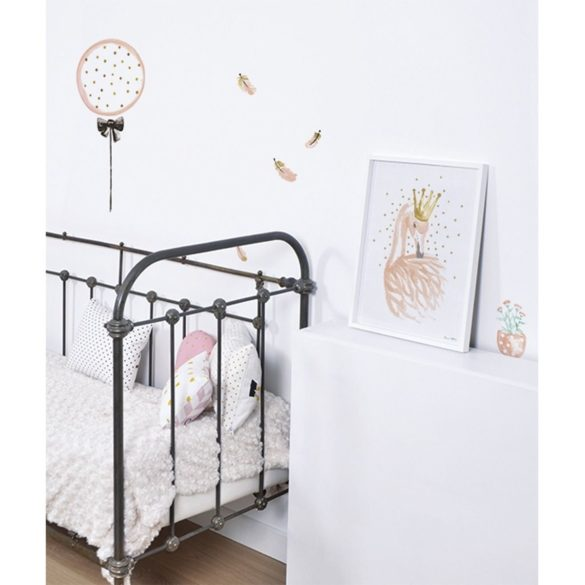 lilinspio wandsticker luftballons puderrosa gold little roomers | Special Blog Adventskalender auf https://youdid.blog