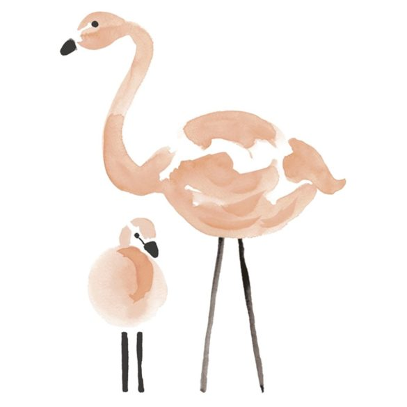lilinspo wandsticker xl flamingo little roomers | Special Blog Adventskalender auf https://youdid.blog