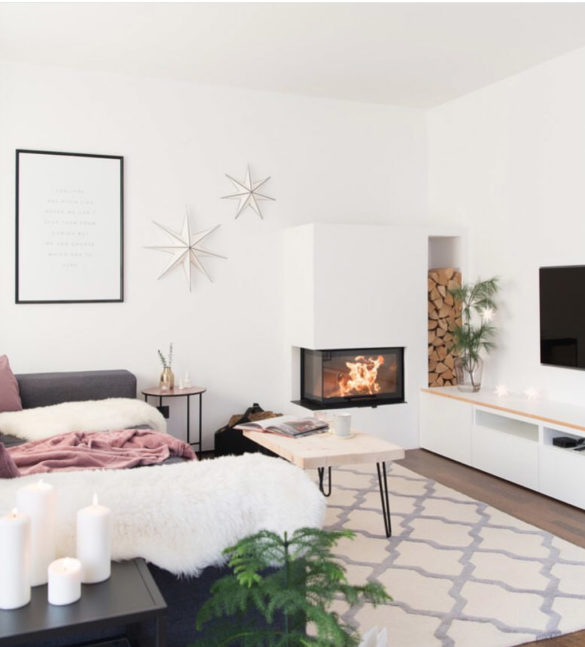 wohnzimmer lovely interior | Special Blog Adventskalender auf https://youdid.blog