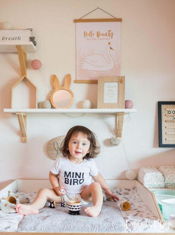 5 Tipps für entspanntes Wickeln und warum wir nur noch Lillydoo Windeln und Feuchttücher verwenden Girlsroom Nordic Interior | https://youdid.blog