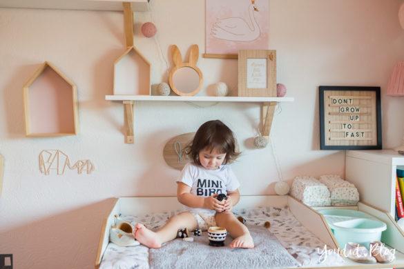 5 Tipps für entspanntes Wickeln und warum wir nur noch Lillydoo Windeln und Feuchttücher verwenden Kidsinterior Kidsroom Kinderzimmer | https://youdid.blog