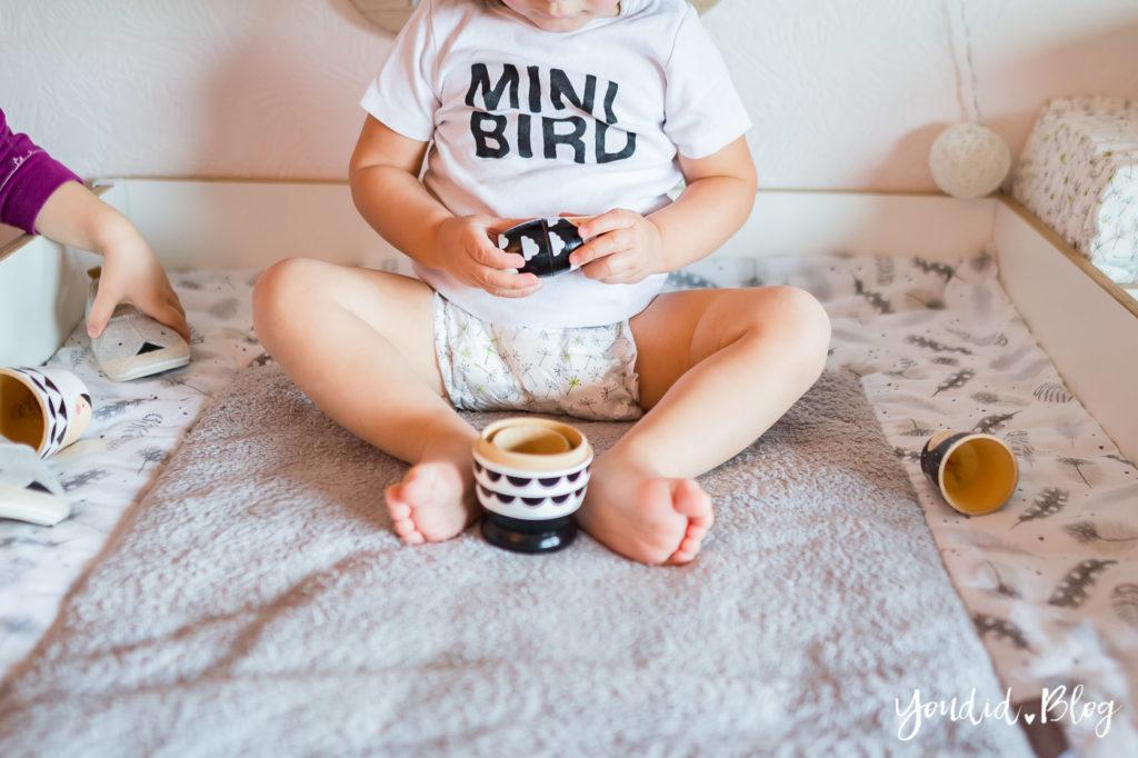 5 Tipps für entspanntes Wickeln und warum wir nur noch Lillydoo Windeln und Feuchttücher verwenden Mini Bird | https://youdid.blog