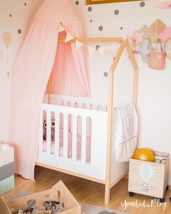 Ein Hausbett selber bauen oder auch nicht – Kinderzimmer Make over mit Vertbaudet housebed | https://youdid.blog