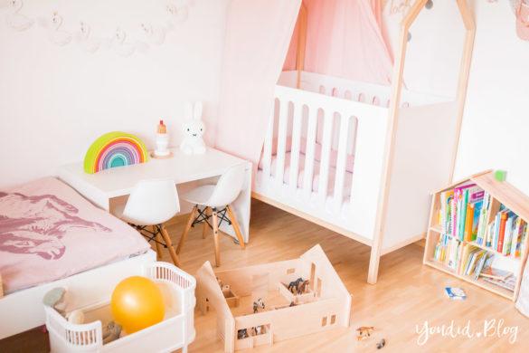 Ein Hausbett selber bauen oder auch nicht – Kinderzimmer Makeover mit Vertbaudet rainbow | https://youdid.blog
