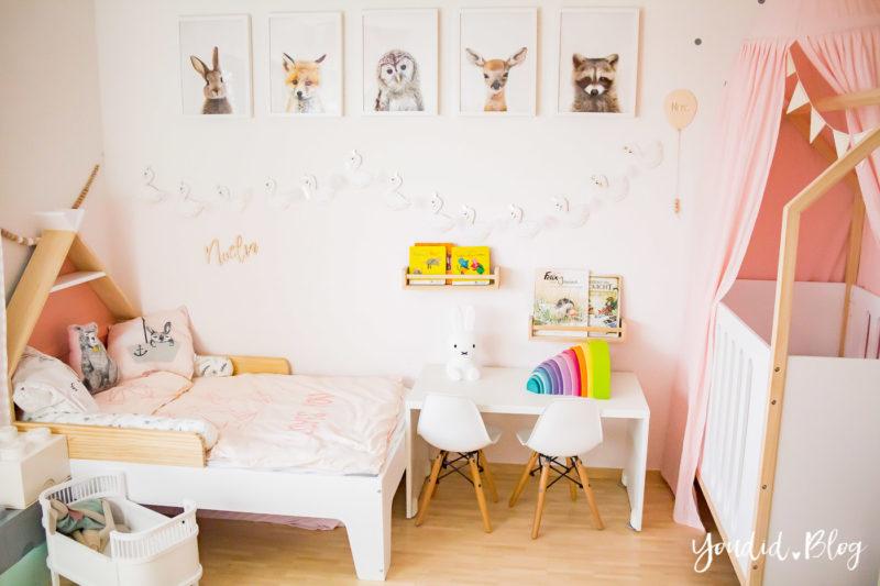 Ein Hausbett selber bauen oder auch nicht - Kinderzimmer Makeover mit Vertbaudet scandi kidsroom nursery | https://youdid.blog