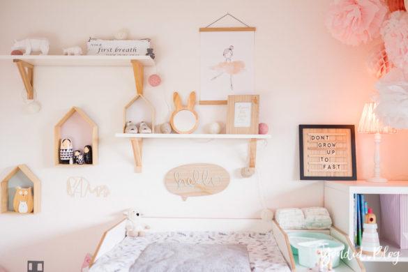 Ein Hausbett selber bauen oder auch nicht–Kinderzimmer skandinavisches Kinderzimmer | https://youdid.blog