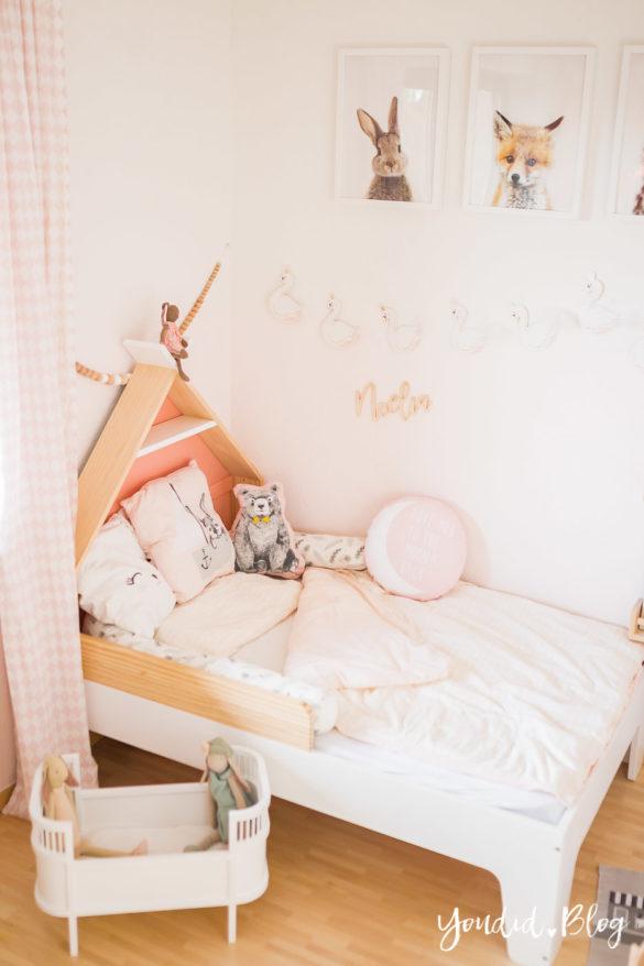 Ein Tipi Bett für unser skandinavisches Kinderzimmer | https://youdid.blog