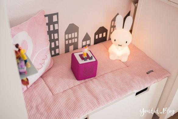 Miffy und Toniebox im skandinavischen Kinderzimmer | https://youdid.blog