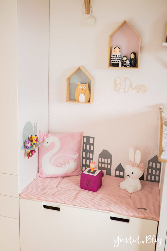 skandinavisches Kinderzimmer Makeover kidsroom nordic interior girlsroom | https://youdid.blog