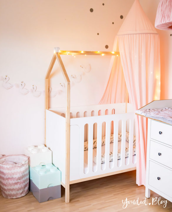 Ein Hausbett selber bauen Kinderzimmer Make over DIY housebed nordic kidsroom skandinavisches Kinderzimmer | https://youdid.blog