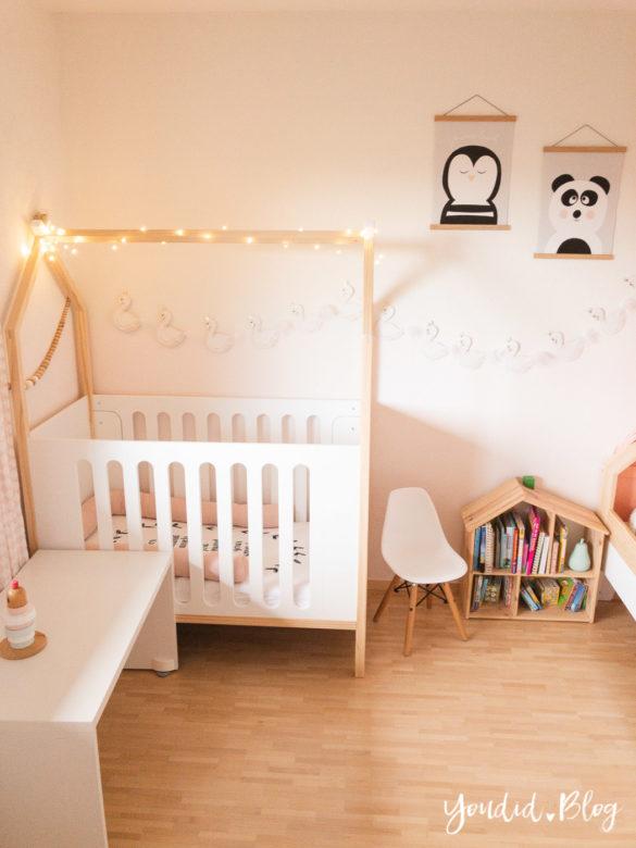 Ein Hausbett selber bauen oder auch nicht Kinderzimmer Make over DIY housebed nordic kidsroom skandinavisches Kinderzimmer | https://youdid.blog