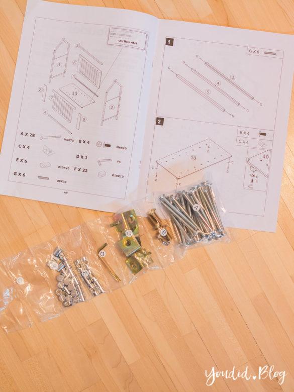 ein hausbett selber bauen oder auch nicht unser. Black Bedroom Furniture Sets. Home Design Ideas