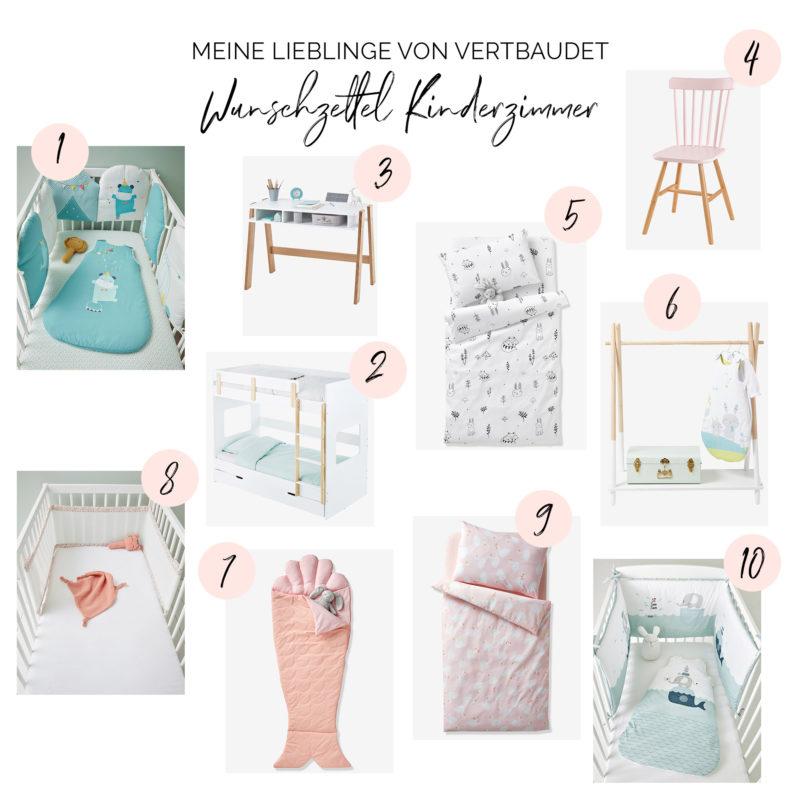 Wunschzettel Kinderzimmer Meine Lieblingsprodukte von Vertbaudet | https://youdid.blog