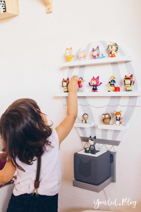 2 Jahre Toniebox – Unsere Erfahrungen mit dem kinderfreundlichsten Audiosystem Haltbarkeit Tonies Toniebox Anleitung Toniebox gewinnen Regal | https://youdid.blog