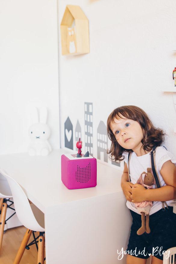 2 Jahre Toniebox – Unsere Erfahrungen mit dem kinderfreundlichsten Audiosystem Haltbarkeit Tonies Toniebox Anleitung Toniebox lauschen | https://youdid.blog