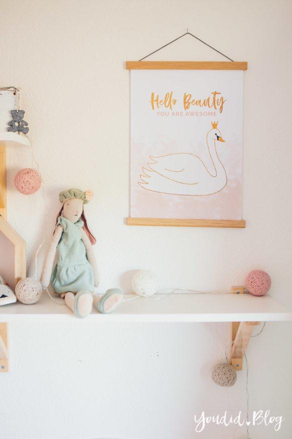 Kidsroom Girlsroom pastell Kinderzimmer nordic interior | https://youdid.blog