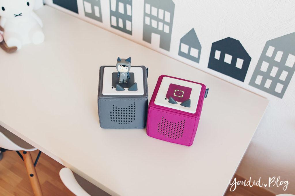 Unsere Erfahrungen mit dem kinderfreundlichsten Audiosystem Haltbarkeit Tonies Toniebox Anleitung Toniebox gewinnen | https://youdid.blog