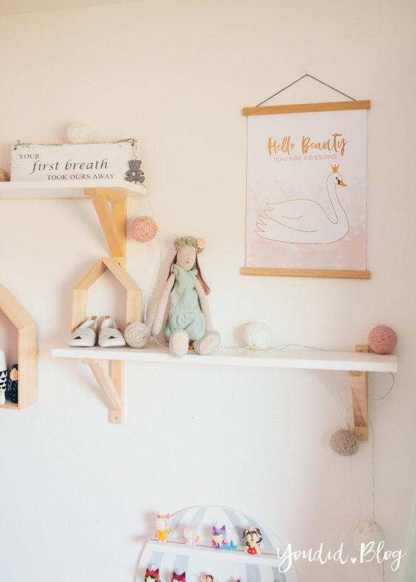 skandinavisches Kinderzimmer nordic minimal Kidsroom | https://youdid.blog
