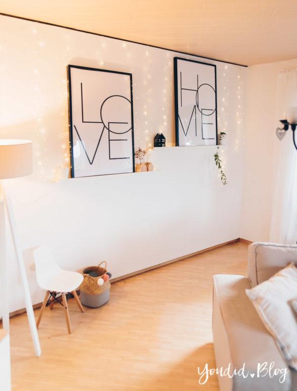 Bildergalerien im skandinavischen Wohnstil Make Over und Herbstdeko für meine Bilderleisten | https://youdid.blog
