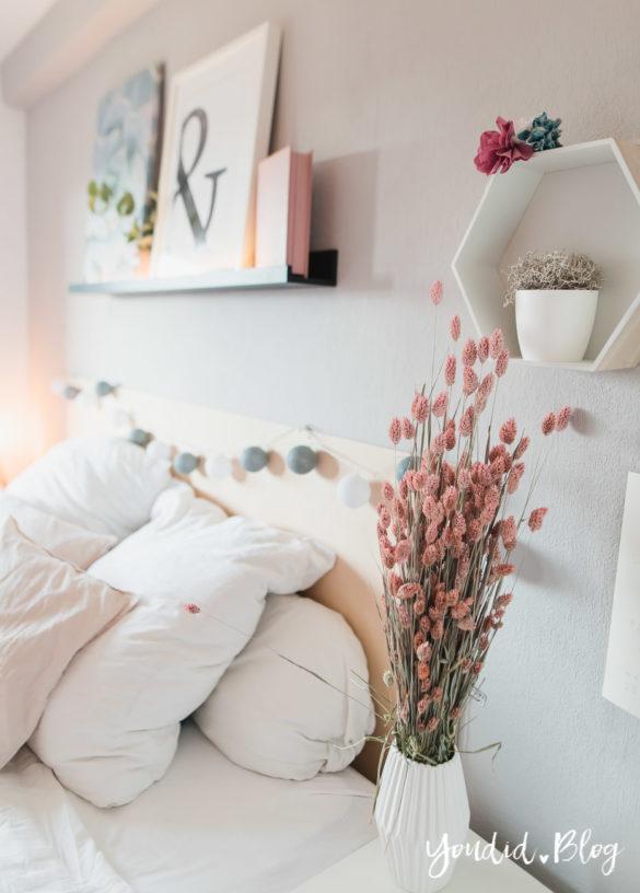 Bildergalerien im skandinavischen Wohnstil Make Over und Herbstdeko für meine Bilderleisten scandi bedroom | https://youdid.blog