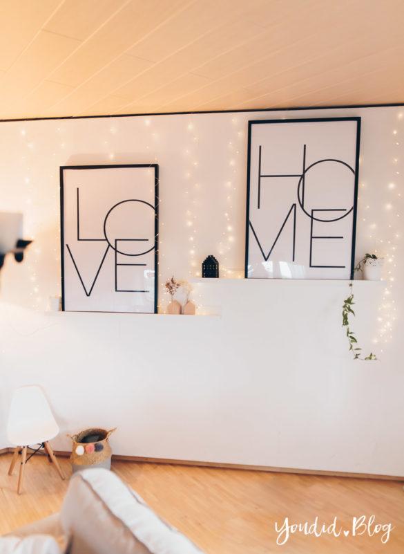Bildergalerien im skandinavischen Wohnstil Make Over und Herbstdeko für meine Bilderleisten von Posterlounge | https://youdid.blog