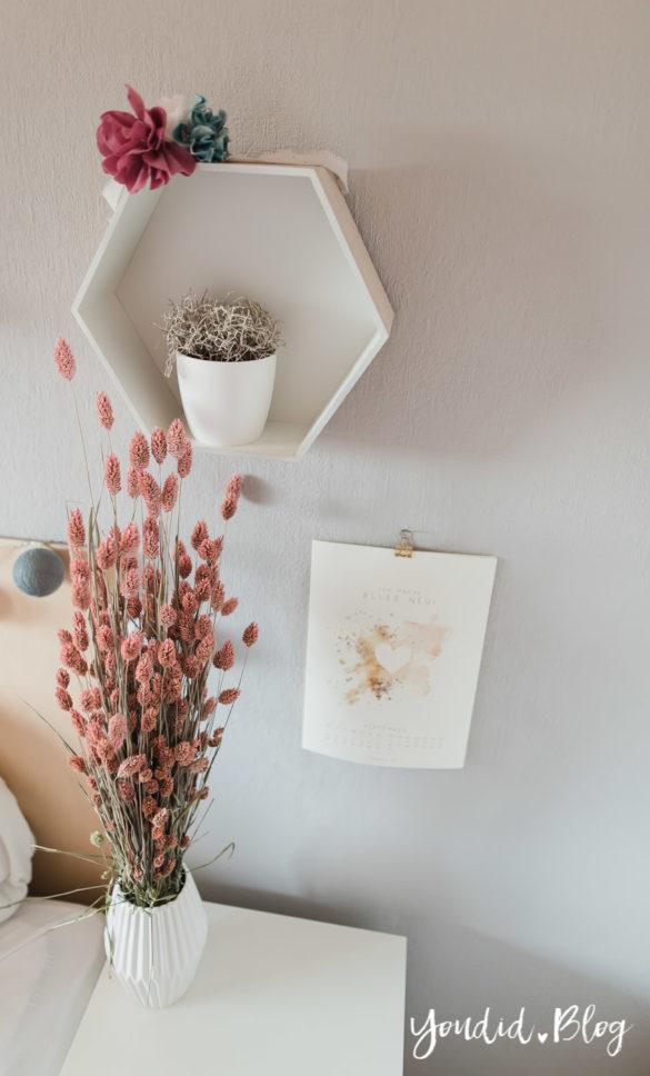 Bildergalerien im skandinavischen Wohnstil Make Over und Herbstdeko für meine Bilderleisten von Posterlounge Trockenblumenstrauss | https://youdid.blog