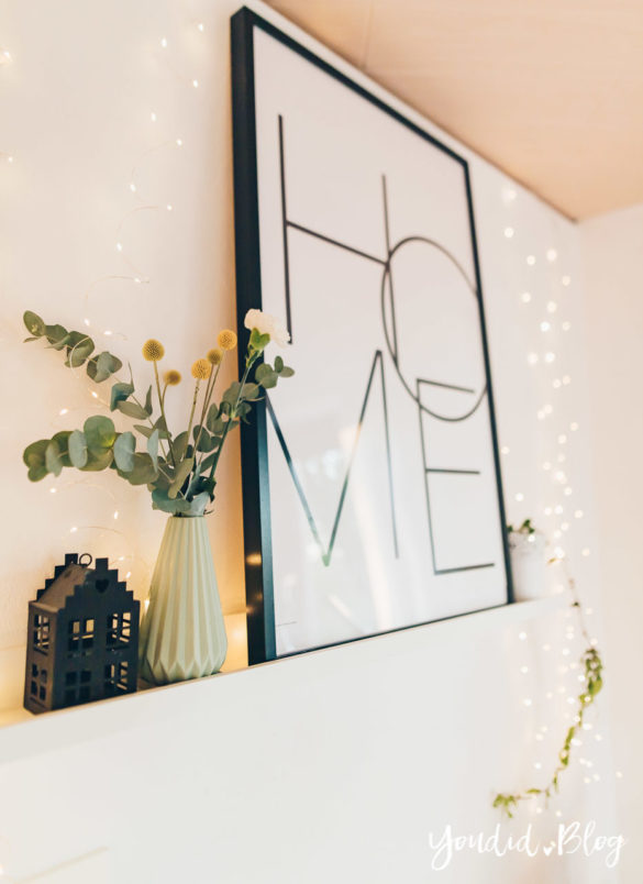 Bildergalerien im skandinavischen Wohnstil Make Over und Herbstdeko für meine Bilderleisten Wohnzimmer | https://youdid.blog