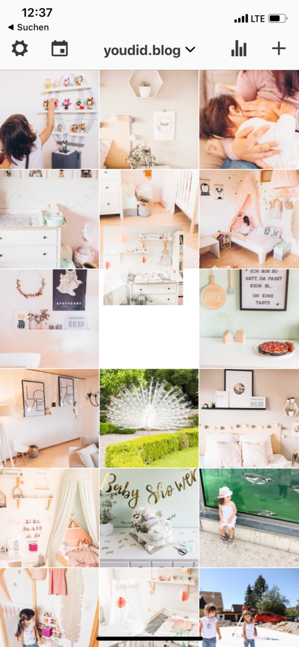 Instagram Posts vorplanen mit dem neuen Creator Studio von Facebook - Instagram Feed planen mit Preview | https://youdid.blog
