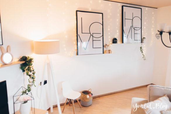 Make Over und Herbstdeko für meine Bilderleisten von Posterlounge im Wohnzimmer | https://youdid.blog