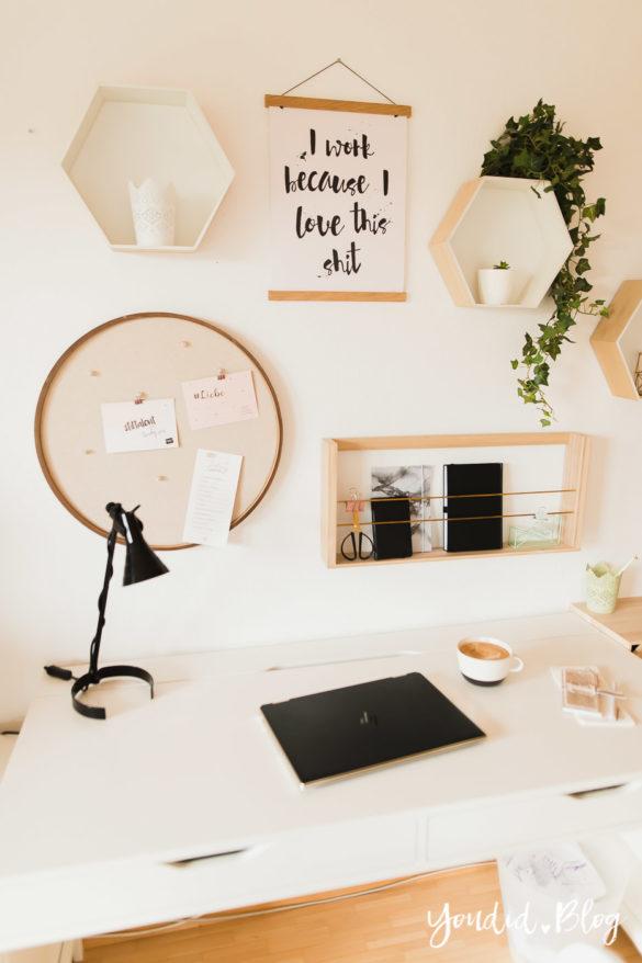 Poster und Holzbilder im skandinavischen Wohnstil Home Office Make Over Herbstdeko Workingmum | https://youdid.blog