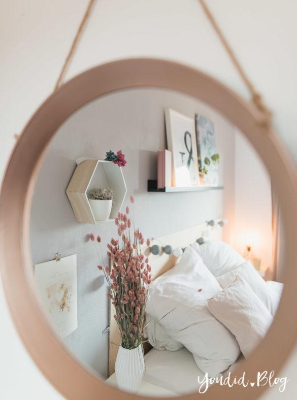 Schlafzimmer im skandi Stil Make Over und Herbstdeko für meine Bilderleisten von Posterlounge | https://youdid.blog