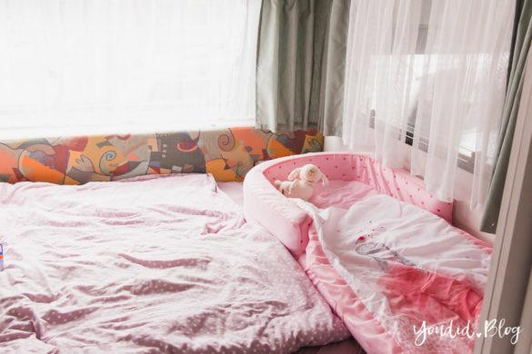 Tipps für einen Campingurlaub mit Baby und Kleinkind Reisen mit Baby Readybed | https://youdid.blog