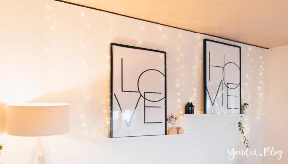 Wohnzimmer im skandinavischen Wohnstil Make Over und Herbstdeko für meine Bilderleisten von Posterlounge | https://youdid.blog