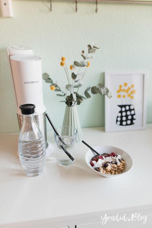 10 Tipps für eine zuckerfreie Ernährung - lowcarb abnehmen - 28 Tage zuckerfrei ohne Süssigkeiten Sodastream Crystal | https://youdid.blog