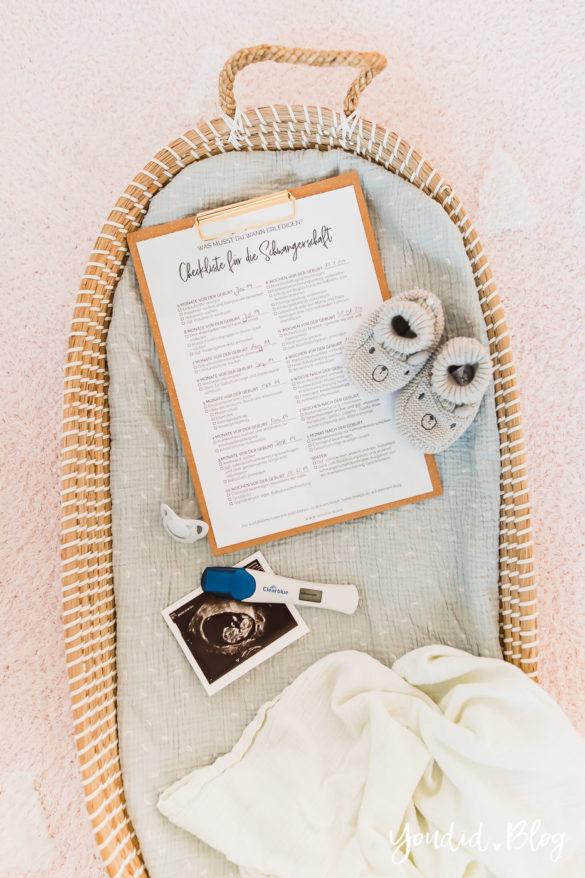 Die ultimative Checkliste für die Schwangerschaft Behördengänge Pregnancy Announcement Schwangerschaftsverkündung | https://youdid.blog