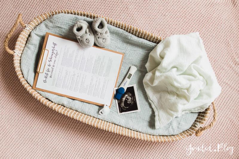Die ultimative Checkliste für die Schwangerschaft - Erstausstattung Behördengänge Termine Anmeldungen Pregnancy Announcement | https://youdid.blog
