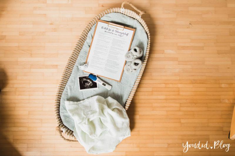Die ultimative Checkliste für die Schwangerschaft Erstausstattung Behördengänge Termine Anmeldungen Schwangerschaftsverkündung | https://youdid.blog