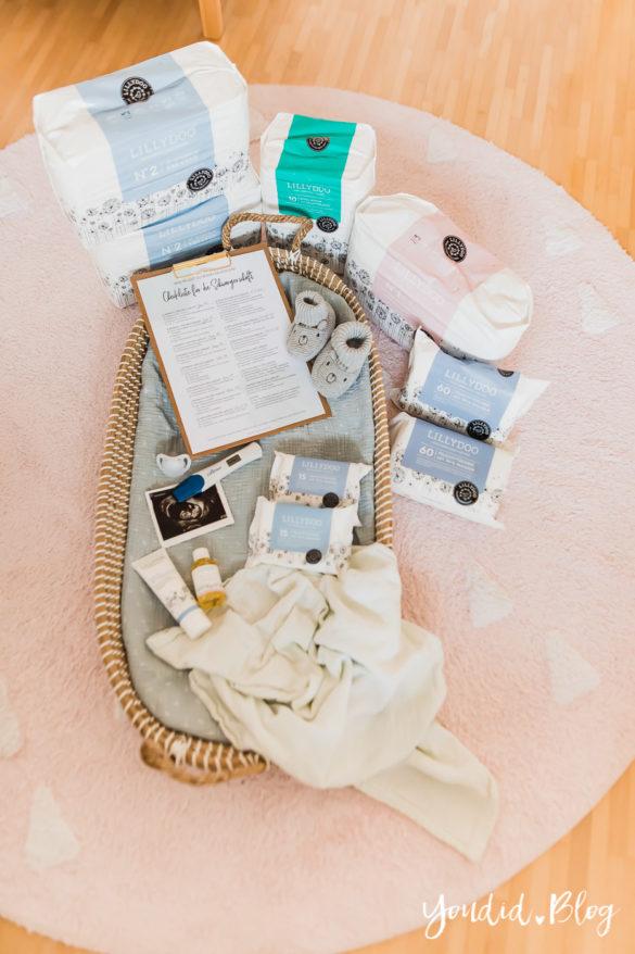 Die ultimative Checkliste für die Schwangerschaft - Erstausstattung die neuen Produktsets von Lillydoo | https://youdid.blog