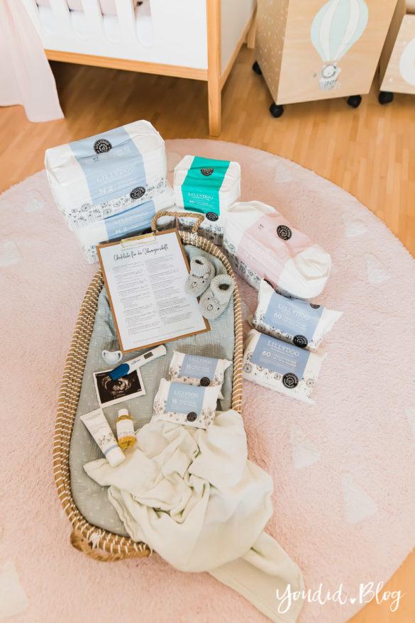 Die ultimative Checkliste für die Schwangerschaft und die neuen Produktsets von Lillydoo Wickelwunder | https://youdid.blog